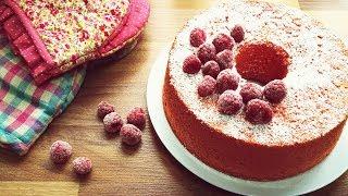 Red Yeast Rice Chiffon Cake<br /> 紅麴戚風蛋糕