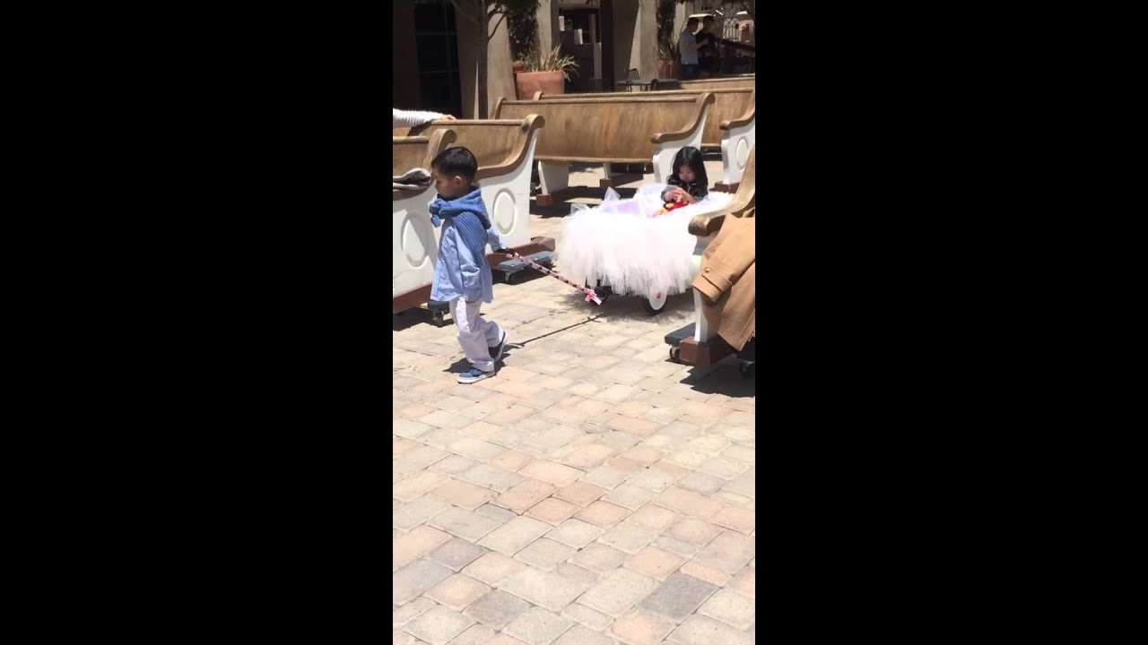 Babies Down the Aisle - YouTube