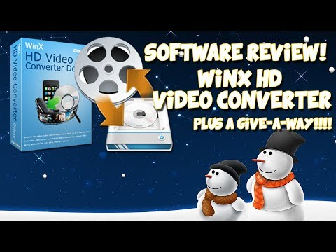 Software Review! - WinX HD Video Converter Deluxe + Give-A-Away!!!!!