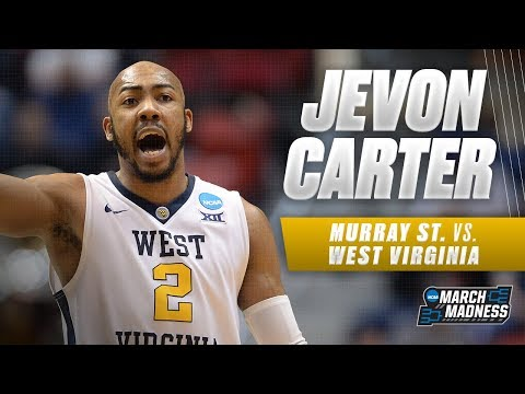 West Virginia's Jevon Carter leads the Mountaineers to a First Round victory