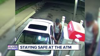 Staying safe at the ATM