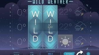 M/C à sous WILD WEATHER ⛅⛅⛅ Un jeu au design original ❄️❄️❄️