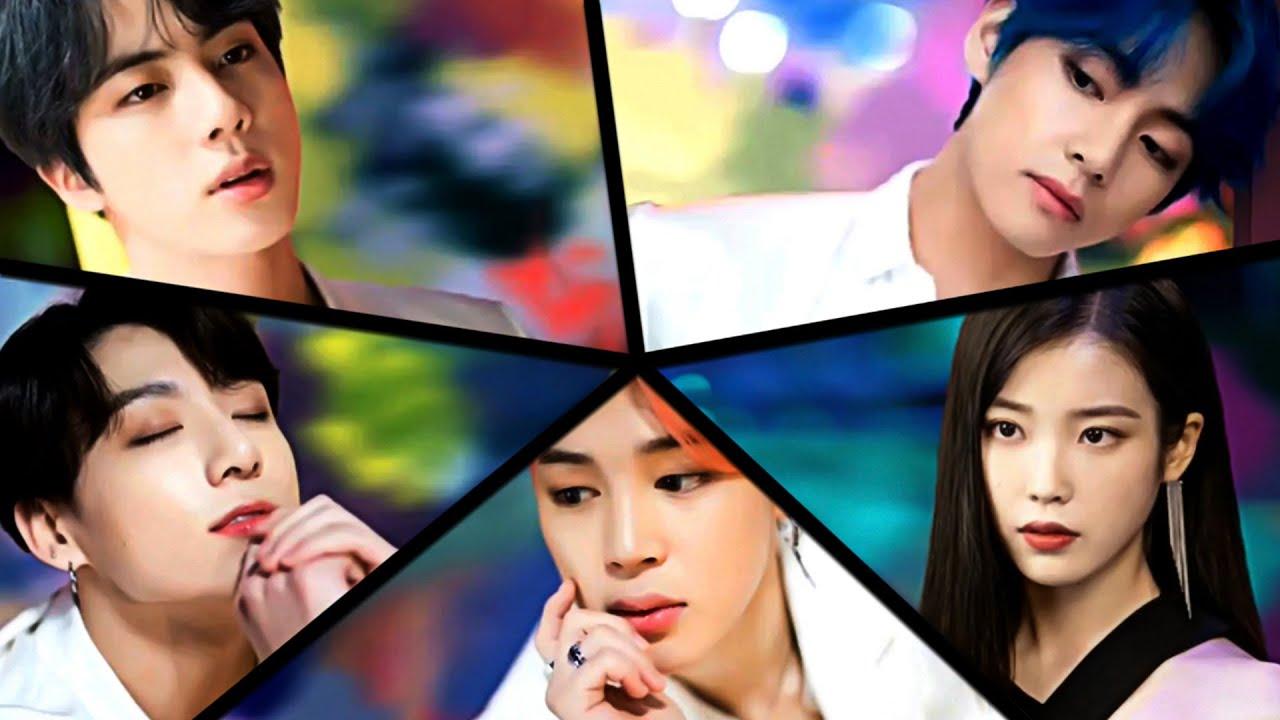 [방탄소년단   아이유] BTS   IU - [전하지 못한 진심/러브 포엠] 'THE TRUTH UNTOLD LOVE POEM' MASHUP