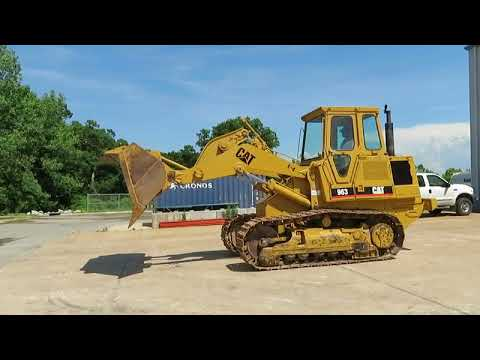 1988 Caterpillar 963 LGP track loader for sale at auction | bidding closes  August 8, 2019
