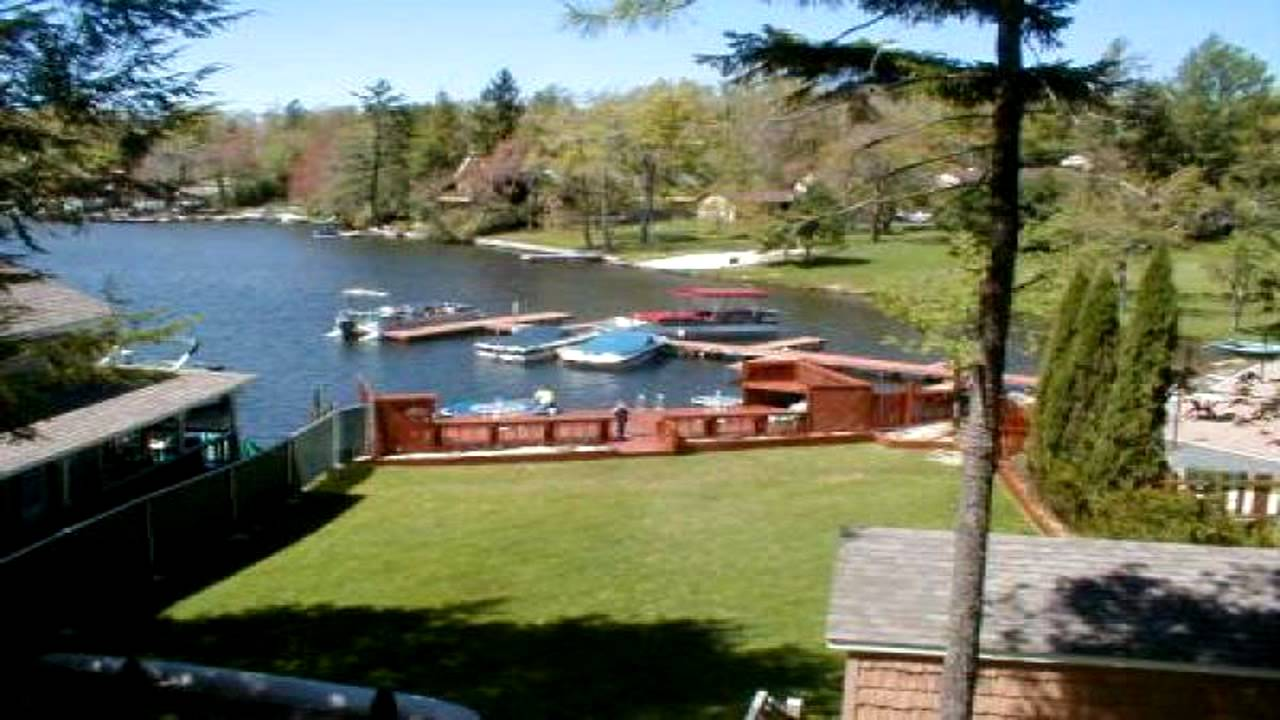 Pocono Mountain Vacation Rental Lake Harmony Lakefront