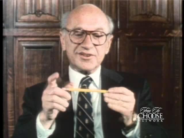Milton Friedman - I, Pencil