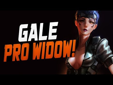 GALE INSANE WIDOW! 29 SCOPED CRITICAL HITS! [ OVERWATCH SEASON 7 TOP 500 ]