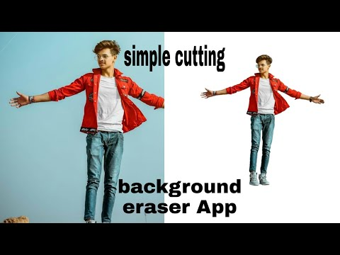 Eraser Background Photo Editor | How To Eraser App Background Cutting | Zaid Editing