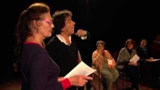 Maison de la poésie : travail autour des oeuvres d'Antonin Artaud