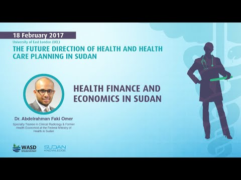 Health finance and economics in Sudan