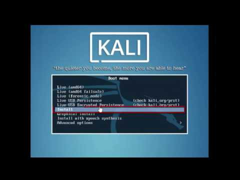 How To Instrall Kali Linux For Using VMware Workstation 12 Player