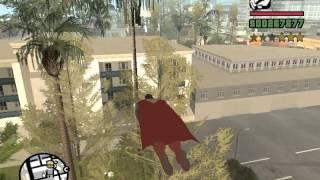 GTA SA: Супермен в San Andreas