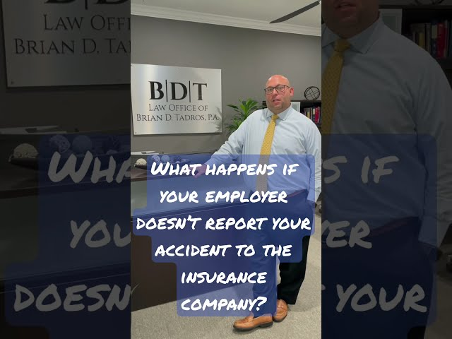 What Happens If Your Employer Doesn't Report Your Workplace Accident To Their Insurance? #shorts