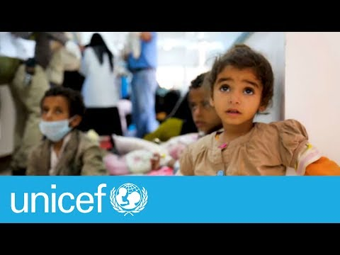 Yemen: Suspected cholera cases soar | UNICEF