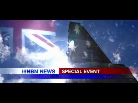 NBN Television Anzac Day 2016 promo