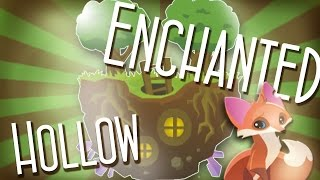 Enchanted Hollow .:Speed Den Edit:. | Animal Jam