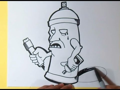 imagenes de latas de graffiti chidas