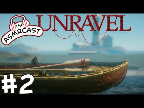 ASMR Gaming: Unravel - #2 The Sea (A Binaural Let's Play)
