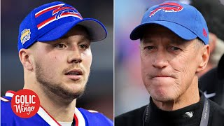 Jim Kelly: Josh Allen needs to step up for the Bills in the NFL playoffs   Golic and Wingo