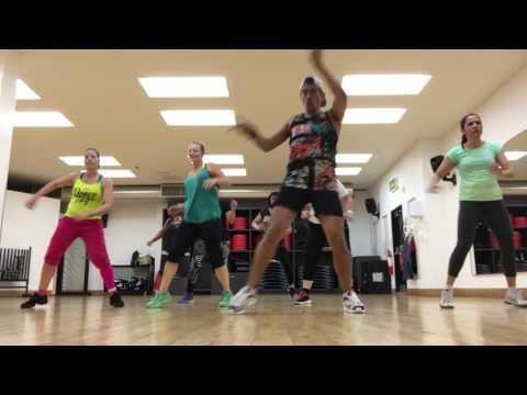 Zumba Fitness ROCKABYE Clean Bandit Remix choreography by Zumba Papi Uk ft Sean Paul & Anne-Marie