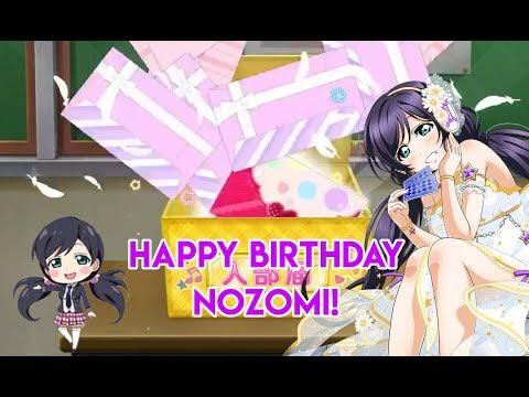 HAPPY BIRTHDAY NOZOMI! 6 10 + 1's & 10 BT   LLSIF
