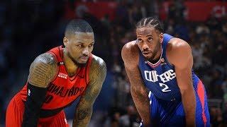 LA Clippers vs Portland Trail Blazers - Full Game Highlights   November 7, 2019
