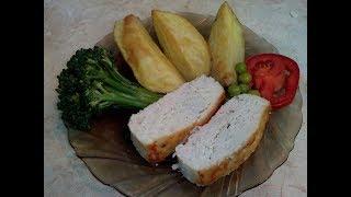 Вкусное Куриное суфле//Рецепт Суфле из курицы в духовке.