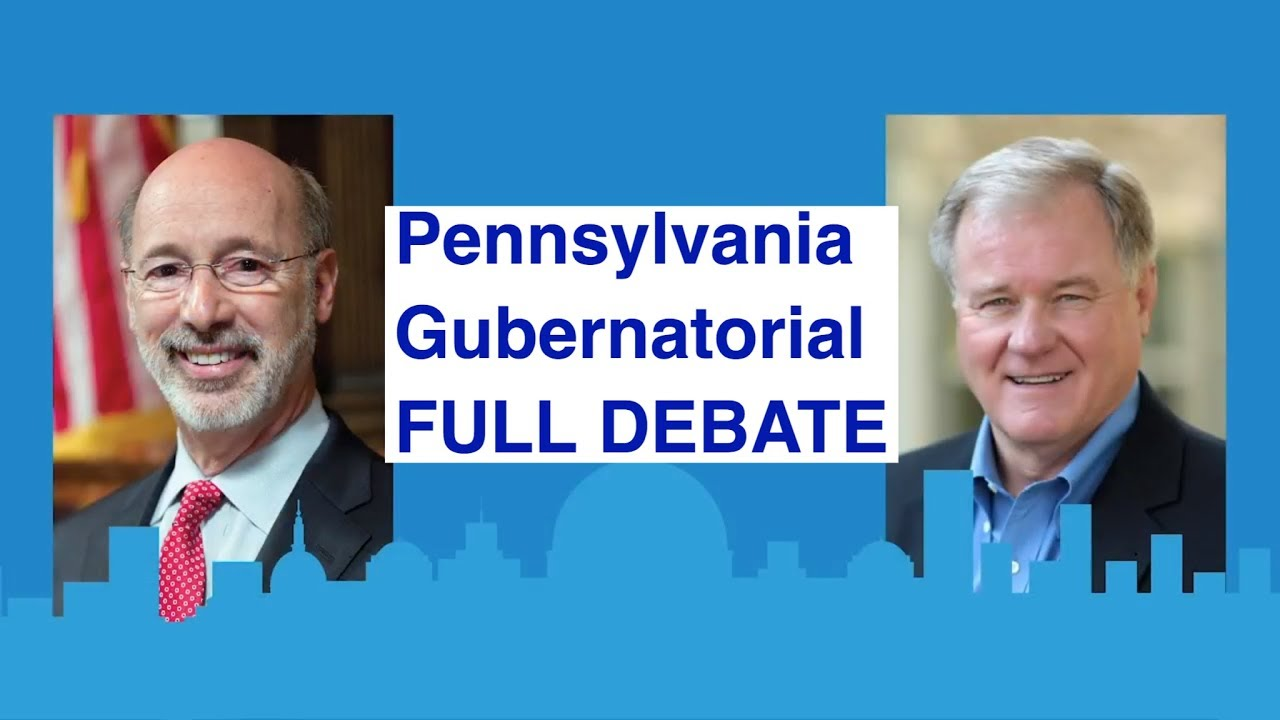 Full Debate | Pennsylvania's governor race | with