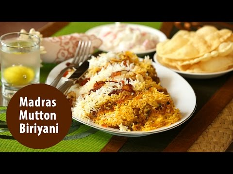 Madras Mutton Biriyani | Mrs K M Mathew's Recipes | Manorama Online