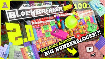 Big Numberblocks 100, 155, 167 & More added in BLOCKBreaker V2.0