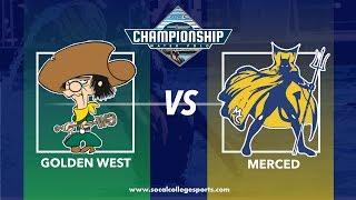 CCCAA Men's Water Polo Semifinal: Golden West vs Merced - 11/16/18 - 2:15pm
