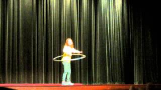 6 year old hula hooping to happy by pharrell williams
