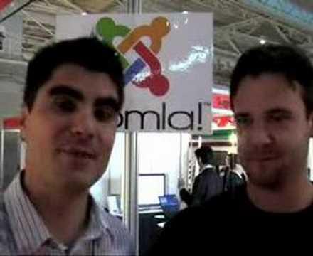 CeBIT Australia 2007: Joomla!