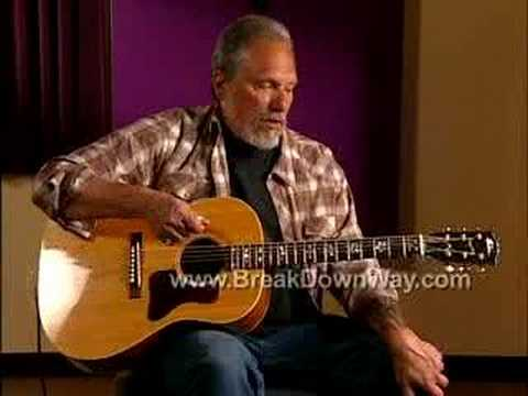 Jorma Kaukonen's Break Down Way Guitar Lesson