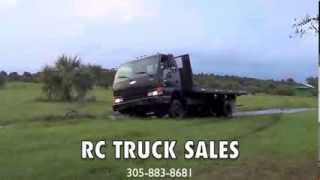 ISUZU NPR (4X4) FLORIDA 4WD  OFF ROAD TEST