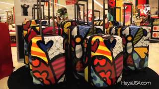 Купить чемодан на колесиках Heys(Коллекция чемоданов всемирно известного бренда Heys создавалась при участии трех современных художников..., 2014-01-30T21:10:36.000Z)