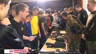 2013-12-10 г. Брест Телекомпания  'Буг-ТВ'. Соревнования по страйкболу