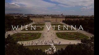The very best of wien vienna from above in 4k aerial view johann strauss an der schönen blauen donau