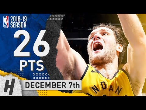 Bojan Bogdanovic Full Highlights Pacers vs Magic 2018.12.07 - 26 Pts, 2 Ast, 3 Rebounds!
