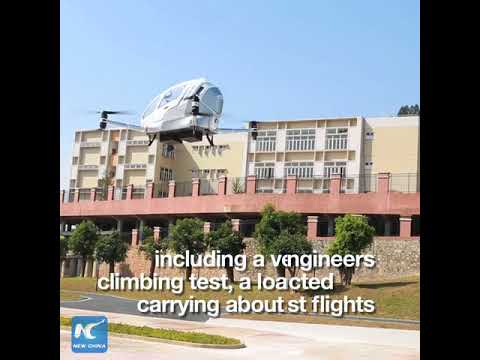 """China's Ehang passenger drones """"completed thousands of flights"""""""