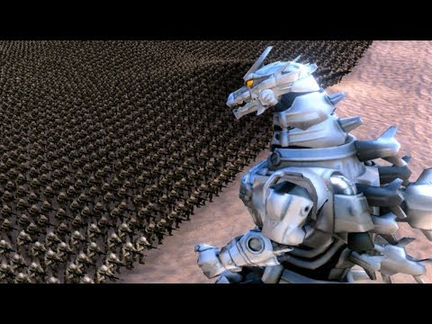 MECHA GODZILLA ATTACKS!!! | Ultimate Epic Battle Simulator HD