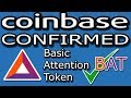 Coinbase LISTED Basic Attention Token (BAT) - Morgan Stanley Enters Crypto... Dun Dun Dun