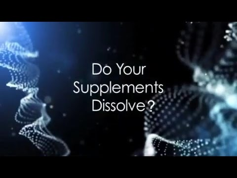 (E06) Do Your Supplements Dissolve?