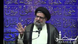Lecture 3 - Importance Of Unity In A Family  - Moulana Mohammed Rizvi - Muharram 1434