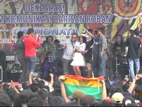 monata wedus deklarasi forum barisan roban kabupaten Batang