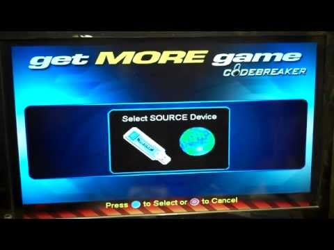 Adding PS2 Codebreaker Day 1 Codes To Modded Internal Hard Drive