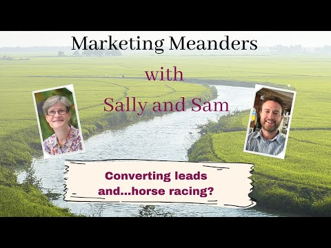 Converting leads and horse racing, a sensible analogy?