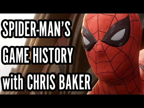 Spider-Man's Game History with Chris Baker! - Electric Playground Interview