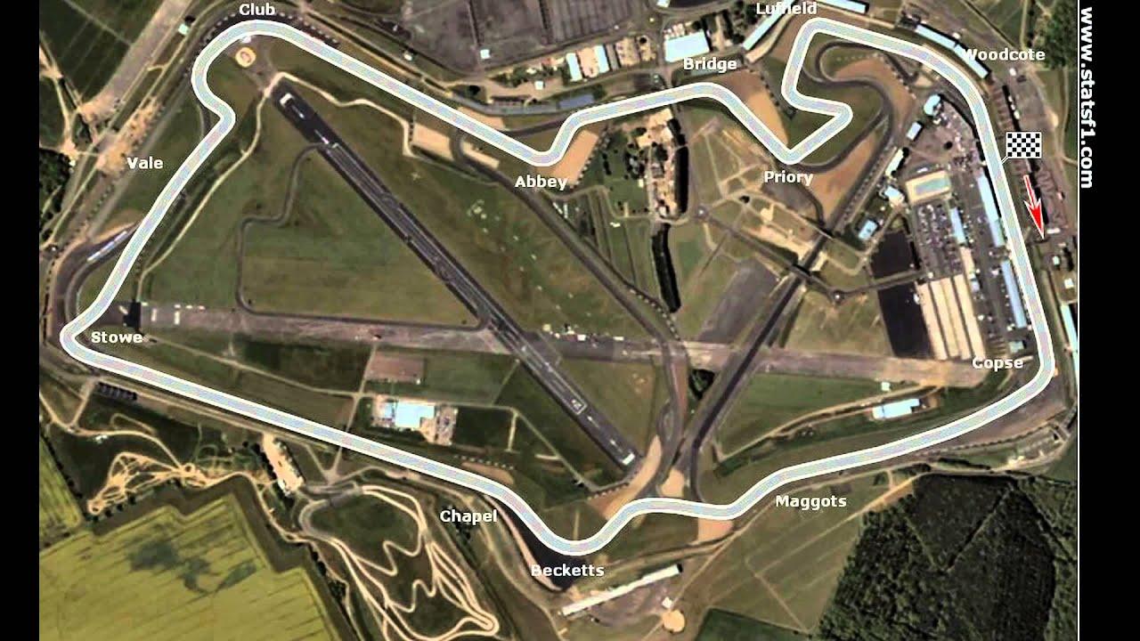 Circuito De Silverstone : Modificaciónes del trazado del circuito de silverstone youtube