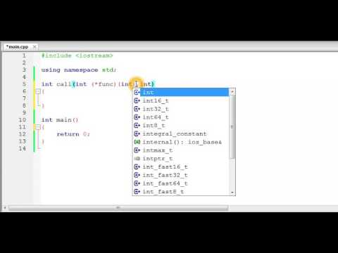 C/C++ : Passing a Function as Argument to another Function | Pointers to function